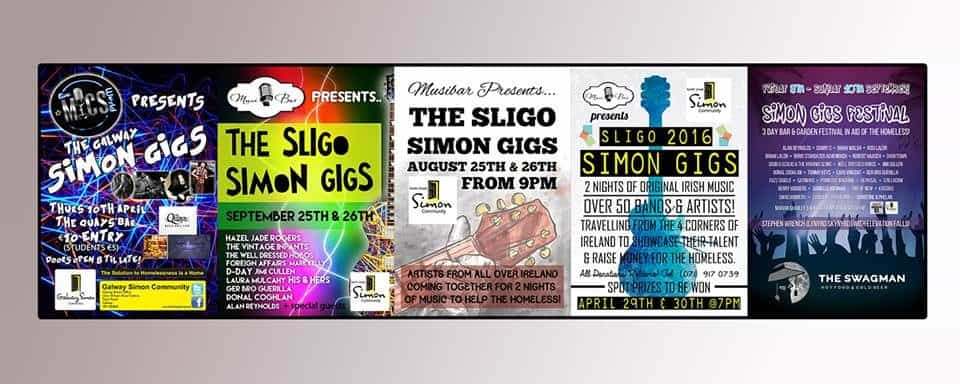 The Simon Gigs