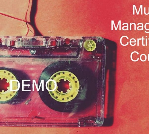 Music Management Course